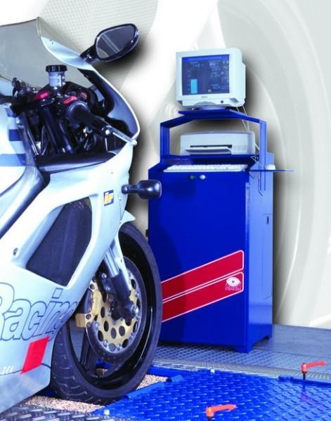 Тормозной роликовый стенд для мотоциклов мод. IW 10 Profi- Eurosystem - Каталог оборудования для комплектации автосервисов