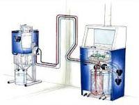 Система рециркуляции и регенерации очищенного растворителя в работе с аппаратами для мойки краскопультов мод. DRESTER DYNAMIC TRIPLE