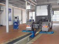 Тормозной роликовый  стенд для груз. автомобилей мод. IW 4 LON 4WD