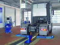 Тормозной роликовый  стенд для груз. автомобилей мод IW 4 EUROSYSTEM 4WD