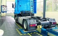 Тормозной роликовый  стенд для груз. автомобилей мод. IW 7 LON Competence