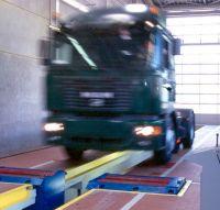 Тормозной роликовый  стенд для груз. автомобилей мод. IW 7 EUROSYSTEM 4WD