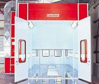 Окрасочно-сушильная камера  для небольших грузовиков и микроавтобусов модель СТ9000