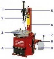 Шиномонтажный полуавтоматический станок  Titanium100/22 Werther-OMA (Италия)