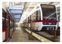 Подкатные мобильные колонны для железнодорожного транспорта модель RGE Special пр-ль Hetra