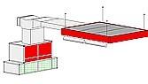 Однопостовая зона подготовки модель 20-008 пр-ль ColorTech