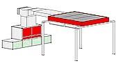 Однопостовая зона подготовки модель 20-009 пр-ль ColorTech