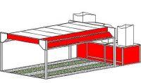 Однопостовая зона подготовки модель 20-012-EP3