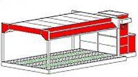 Однопостовая зона подготовки модель 20-022 пр-ль ColorTech