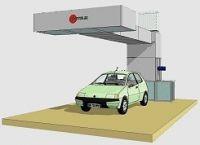 Зона подготовки на один пост без подогрева с диагональным продувом модель PA002 пр-ль USI ITALIA