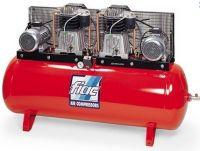 Профессиональный 2-хступенчатый компрессор с ременным приводом (тандем) модель АВТ 500/1700 пр-ль FIAC (Италия-Беларусь)