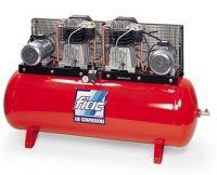 Профессиональный 2-хступенчатый компрессор с ременным приводом (тандем) модель АВТ 500/2000 пр-ль FIAC (Италия-Беларусь)
