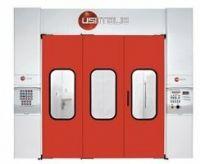 Окрасочно-сушильная камера ENERGO-S газовая (300 изм. в кВт, 35000 м3/час, верхнее+угловое освещение)