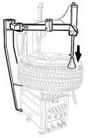 Пневматический отжиматель борта для моделей A2015/20/25 пр-ль CORGHI